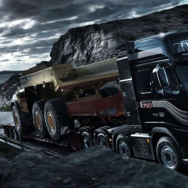 Перевозка негабаритных грузов по России
