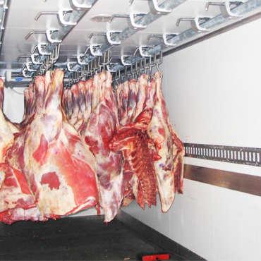 Перевозка охлажденного и замороженного мяса по России